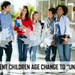 "AGE INCREASED FOR DEPENDENT CHILDREN TO ""UNDER 22"""